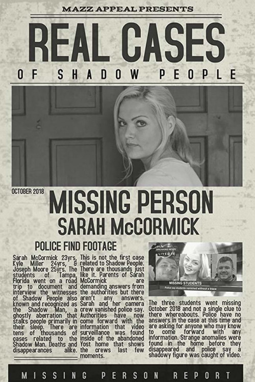 real cases of shadow people the sarah mccormick story cover image