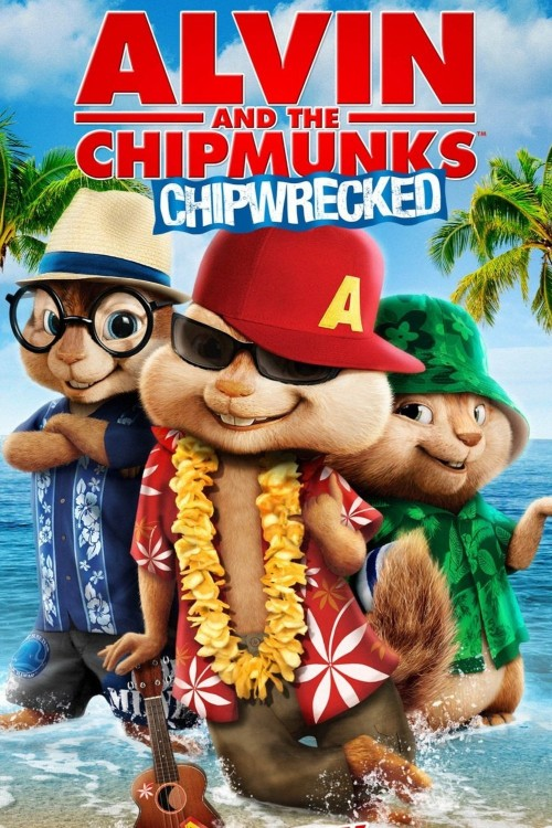 alvin and the chipmunks: chipwrecked cover image