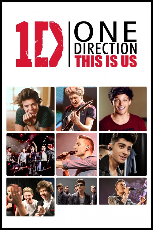 one direction: this is us cover image