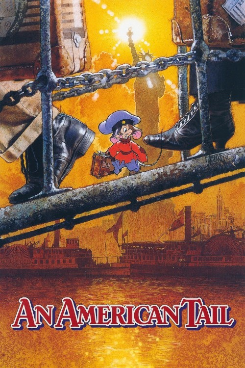 an american tail cover image