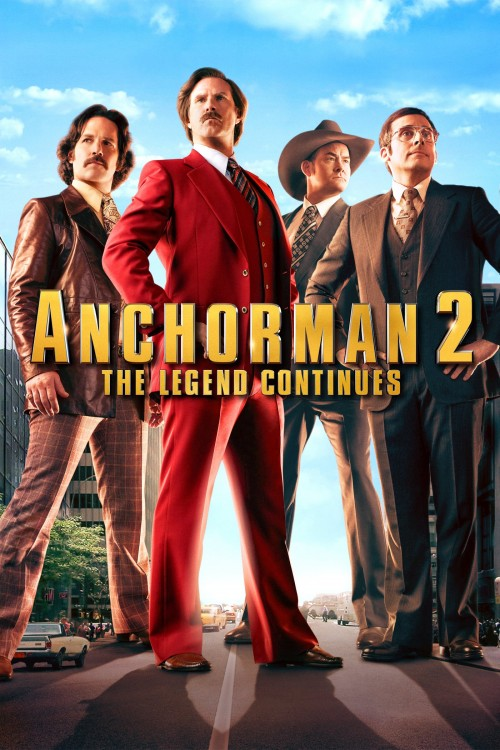 anchorman 2: the legend continues cover image