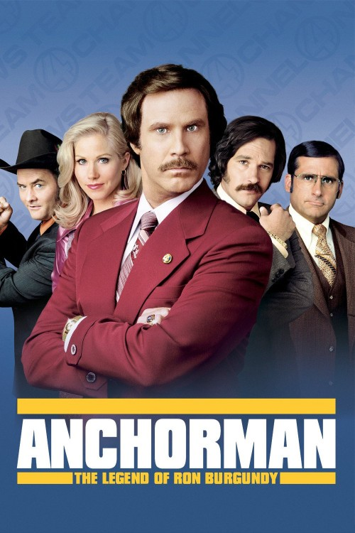 anchorman: the legend of ron burgundy cover image
