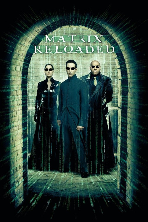 the matrix reloaded cover image