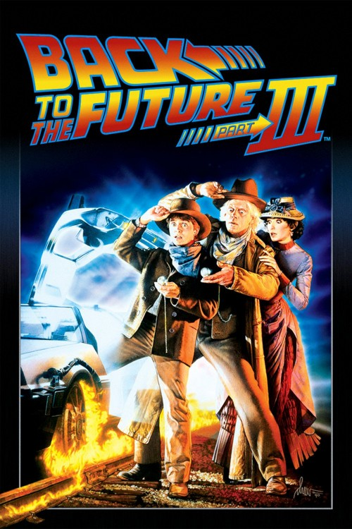 back to the future part iii cover image