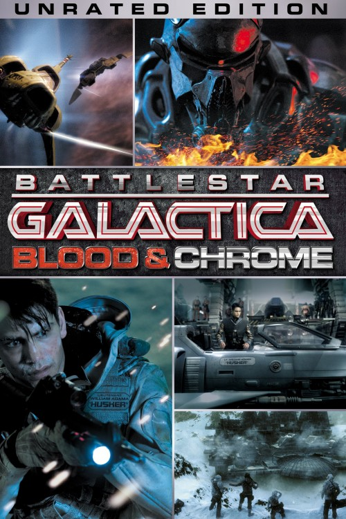 battlestar galactica: blood & chrome cover image