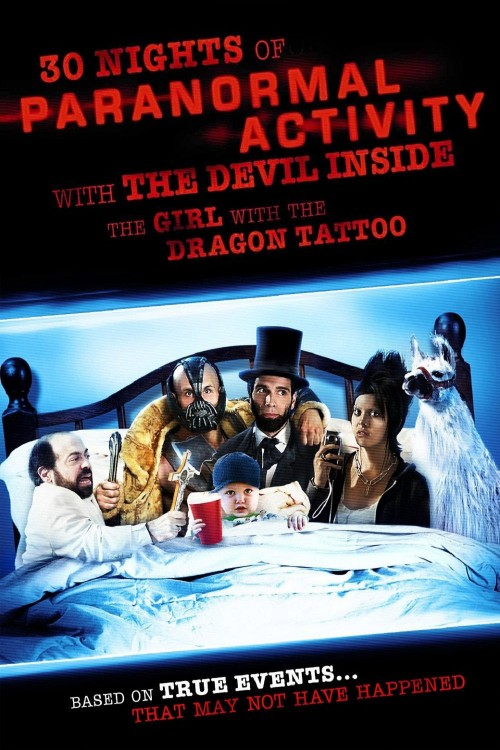 30 nights of paranormal activity with the devil inside the girl with the dragon tattoo cover image