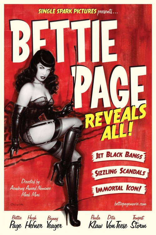 bettie page reveals all cover image