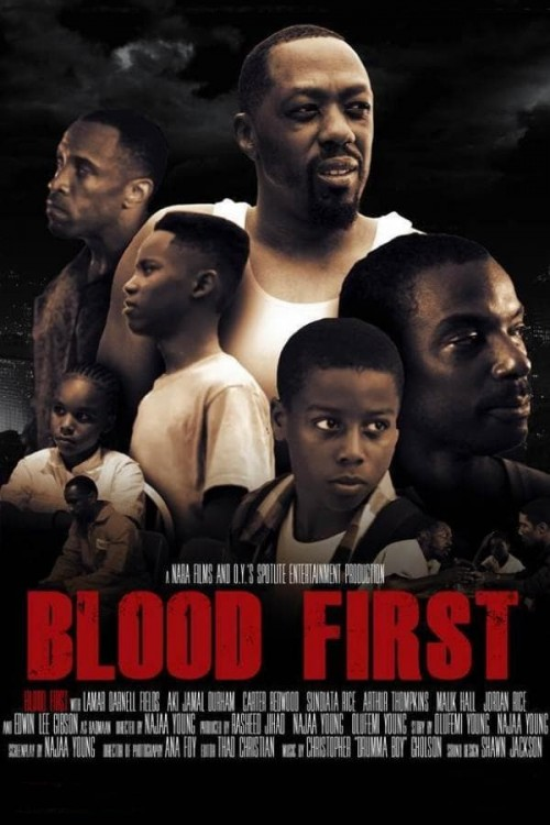 blood first cover image