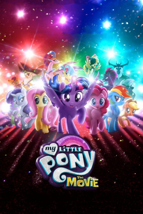 my little pony: the movie cover image