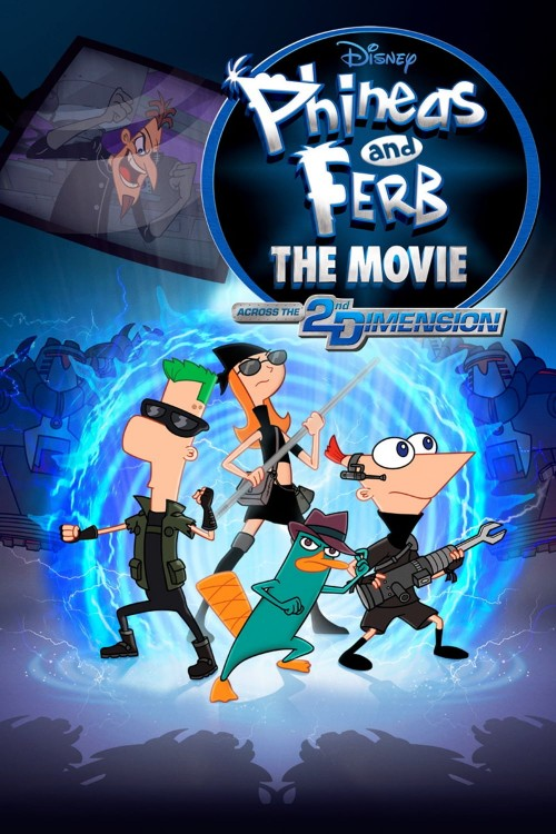 phineas and ferb the movie: across the 2nd dimension cover image