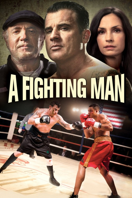 a fighting man cover image