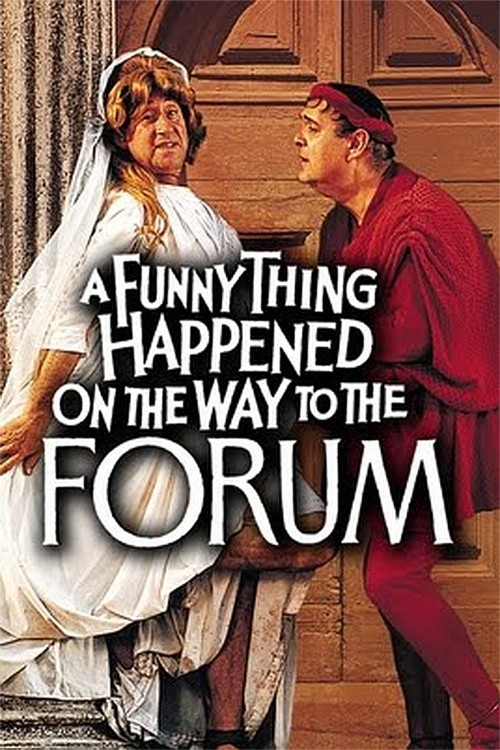 a funny thing happened on the way to the forum cover image