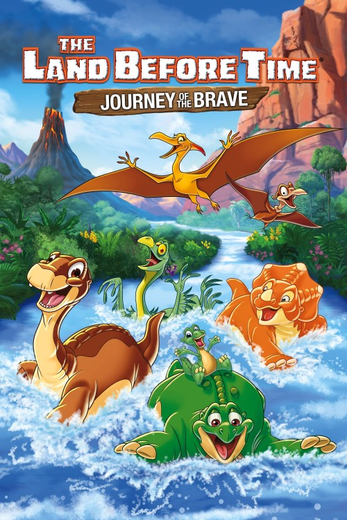 the land before time xiv: journey of the brave cover image